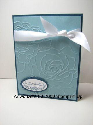 Kathleenh-blue embossed flower