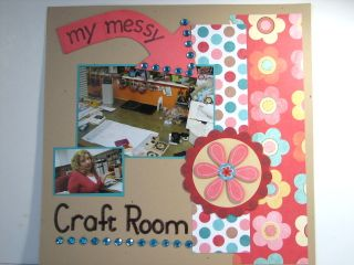 Kathleenh-my messy craft room