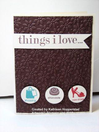 Kathleenh-things I love