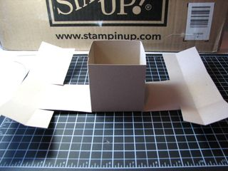 Origami box middle