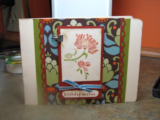 Cathy's card