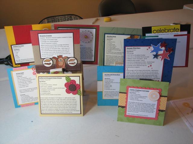Recipe card class