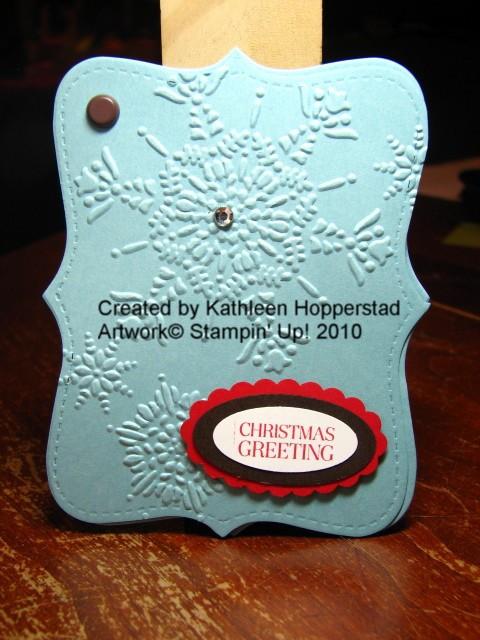Kathleenh-snowflake giftcard holder