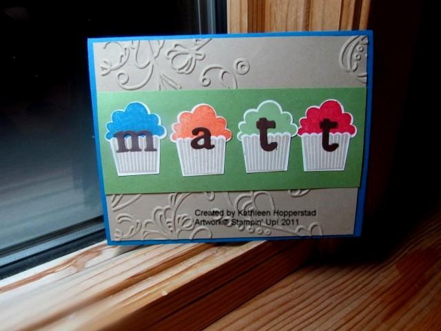 Kathleenh-matt's cupcake card