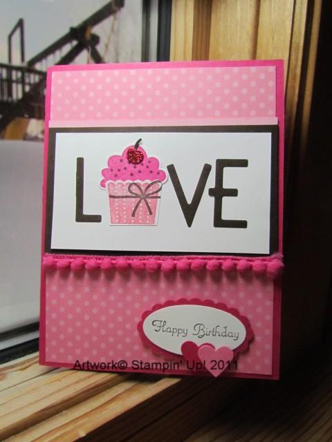 Cupcake of love