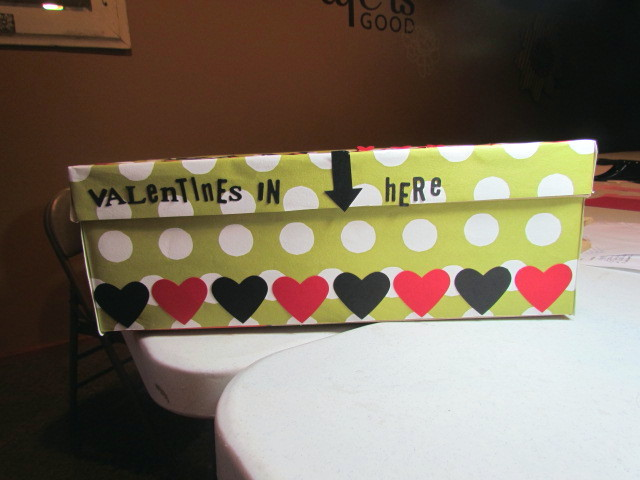 Sam's Valentine Box front view