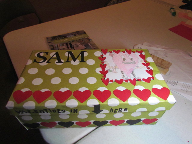 Sam's Valentine Box