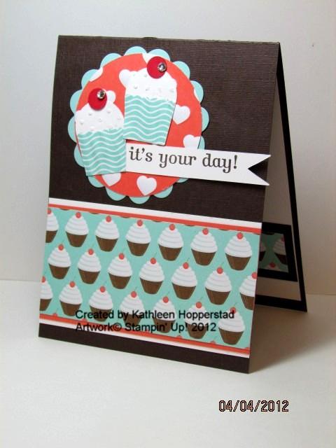 Kathleenh-pool party cupcakes