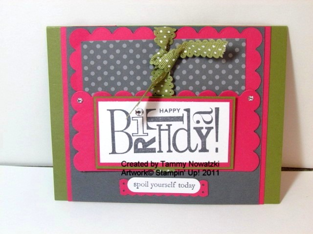 My Happy Stamping Place Gift Card Holder