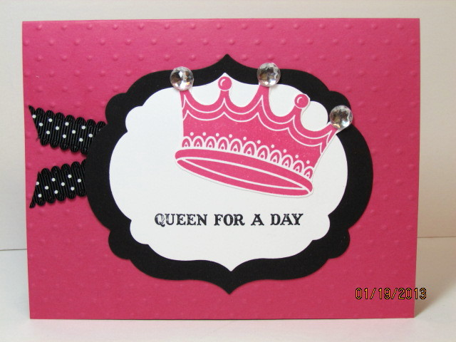 Kathleenh-queen for a day