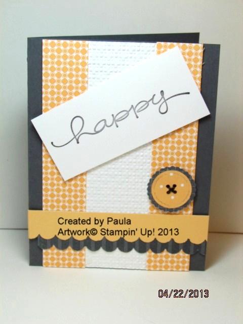 Paula's button card
