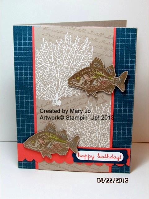 Mary jo's fish card