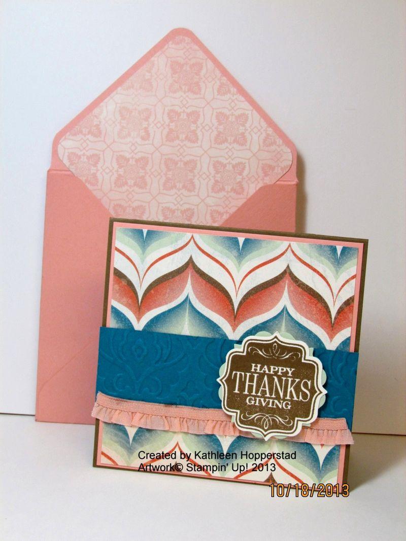 Kathleenh-thanksgiving card and envelope