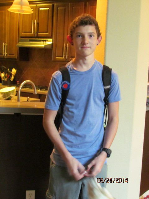 Nick's 1st day of 11th grade-1