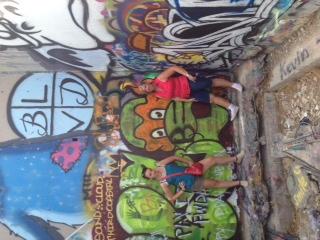 Graffiti park-mom and becca-1