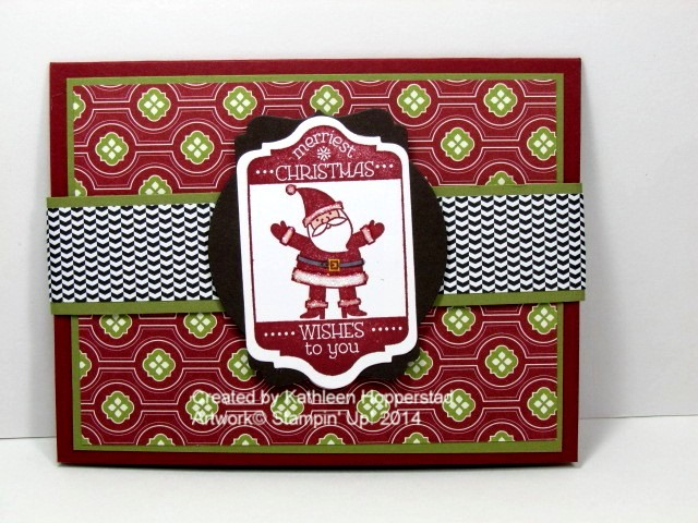 Kathleenh-christmas gift card holder front