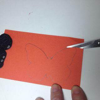 Monarch pencil lines