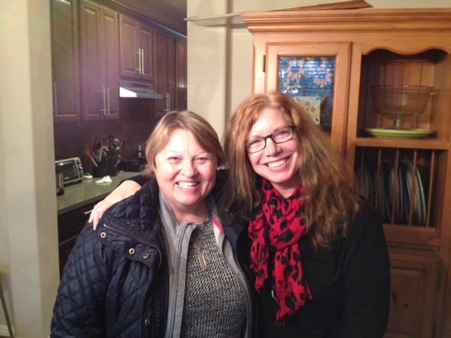 Kathleen and Paula