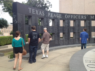 Peace officers memorials